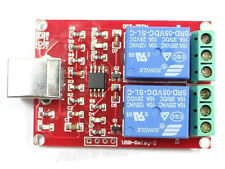 5V USB Relay 2 Channel Board Computer PC Command Smart Control Switch Controller