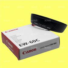 Genuine Canon EW-60C Lens Hood EF-S 18-55mm f/3.5-5.6 II EF 28-80mm f/3.5-5.6 II