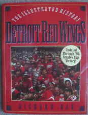 DETROIT RED WINGS The Illustrated History Richard Bak 1st 1998 Updated L@@K WOW!