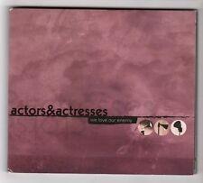 (HB970) Actors & Actresses, We Love Our Enemy - CD