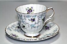 """Vintage Royal Stafford """" Enchantment  """"  Teacup and Saucer c1969 Made in England"""