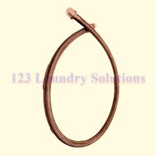 New Washer Hose Stm W/Ftg Ss 1Idx74 for Speed Queen F200196