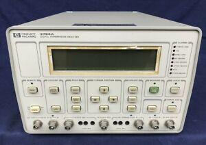 Digital Transmission Analyzer HP 3784A -DA REVISIONARE