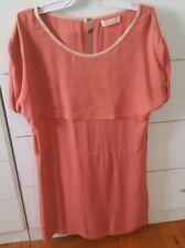 SASS & BIDE Dusty Pink Dress Size US 4 Silk
