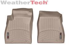 WeatherTech Floor Mats FloorLiner for Nissan Sentra - 2014-2018 - 1st Row - Tan
