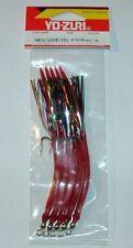 NEW SAND EEL 4/0 mm 130 anguilla YO ZURI col 31 rosso