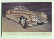 ad1174 - Jaguar XK 140- 2 Seater - Modern Advert Postcard