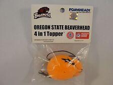 Oregon State Beavers NCAA Foamhead 4 in 1 Antenna Topper Keychain