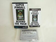 SUPER PINBALL BEHIND THE MASK Super Famicom Nintendo Japan Boxed Game sf