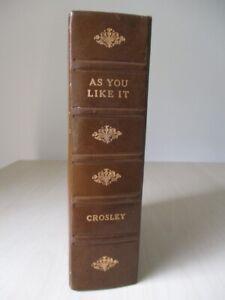 "Crosley 1955 USA miniature portable ""As You Like It"" book valve radio"