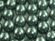 Swarovski Crystal Pearl 8 mm x 12  TAHITIAN 5810