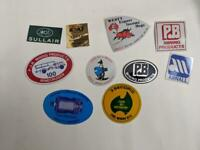 Retro Mining Sticker - 10 Stickers as pictured (Lot 31)