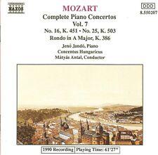 Mozart – Complete Piano Concertos Vol.7, Nos. 16 & 25 / Jenö Jandó