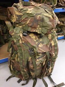Genuine British Army PLCE 100 Litre Bergen DPM Camo Used Rucksack Shortback UK