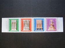 L'Ungheria, Magyar Posta MiNr. 3060-3063 a tre solo pneumatici Post freschi ** (W 384)