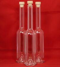 6 Leere GLASFLASCHEN 0.5 l-Likörflaschen,Schnapsflaschen 500 ml Flaschen PE Grif