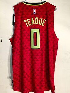 Adidas Swingman 2015-16 NBA Jersey Atlanta Hawks Jeff Teague Red Alt sz XL