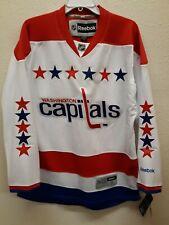 Reebok Premier NHL Jersey Washington Capitals Team White sz SMALL