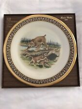 Bobcats Woodland Wildlife Lenox Decorative Collector Plate Limited Edition (O)