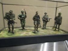 Rare Jungle Squad Pewter Figurines Franklin Mint By Ron Spicer.Very Nice