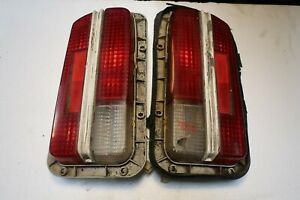 Pair Rear Tail Lights from 1972 Datsun 240Z #2 (T2-2)