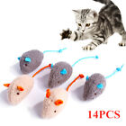 Short Plush Mouse Cat Toy Mice Pet Kitten Funny Rat Interactive Playing Fur Toy