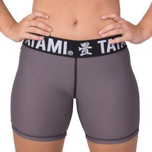 Tatami Fightwear Women's Minimal Vale Tudo Shorts - Graphite
