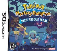 Pokemon Mystery Dungeon: Blue Rescue Team - Nintendo DS