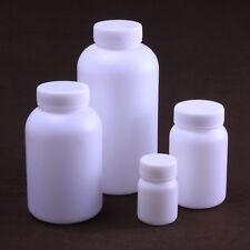 10pc 250ML Plastic round bottle plastic sample bottle HDPE bottle Reagent bottle