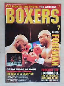 BOXERS MAGAZINE Issue 7 GEORGE FOREMAN