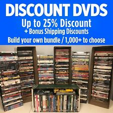 Dvds / Build Your Bundle / # thru Cl / *Combined Shipping & Deep Discounts*