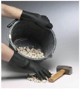 Industrial Rubber Gloves Shield GI/6406 Meets EN388 2020 EN374-3 AQL1.5 1.5