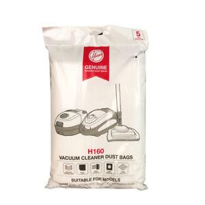 GENUINE HOOVER SMART H160 VACUUM BAGS 5PK
