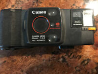 UNTESTED  Canon Snappy 50 35MM Film Camera, Vintage