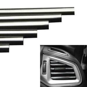 10 Stück Auto Autozubehör bunte Klimaanlage Air Outlet Dekoration Streifen L7P9