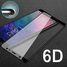 9H 6D Curved Full Tempered Glass Screen Protector for A6 Plus/A9 Star/J6 HD Film