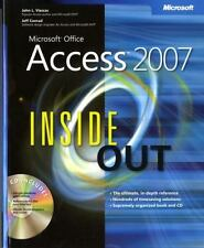 Microsoft Office Access 2007 Inside Out, Viescas, John, Conrad, Jeff, Good Book