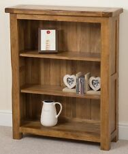 Cotswold Rustic Small Solid Oak Bookcase Office Furniture 890 X 300 X 1 090 Cm