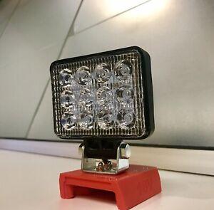 DIY LED for Milwaukee 18v Battery LED Work Light  / Torch / Camping Light