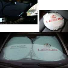 Front Rear Car Window Foldable Sun Shade Shield Cover Visor UV Block For Lexus