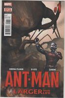 Ant-Man Larger Than Life #1 Marvel comic 1st Print 2015 NM  ships in t-folder