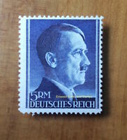 EBS Germany 1942 Adolf Hitler Hitlerkopf 5 Mark Michel 802A MNH** cv $14.00