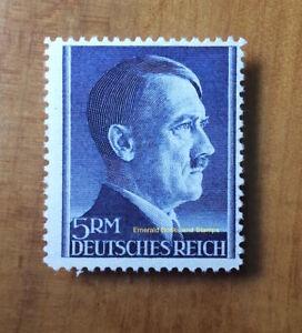 EBS Germany 1942 Adolf Hitler Hitlerkopf 5 Mark Michel 802A MNH** cv $14.00