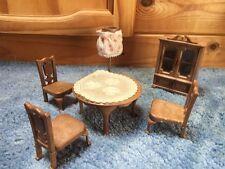 Sylvanian Families living room Furniture Vintage 1987