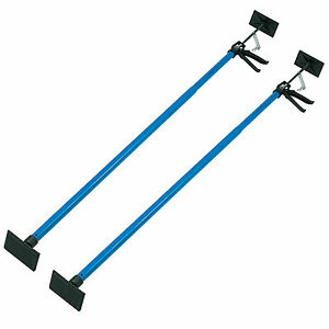 2 X Drywall Plasterboard Builder Adjustable Easy Props Ceiling Support 115-290cm