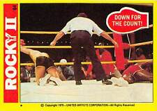 1979 Topps Rocky II #84 Down For The Count! > Balboa > Apollo Creed