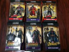 Marvel Legends Infinity War Avengers Set of 6 Cull Obsidian Wave 2 ~IN STOCK NOW