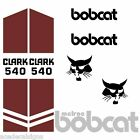 Bobcat 540 DECALS Stickers Skid Steer loader New Repro decal Kit