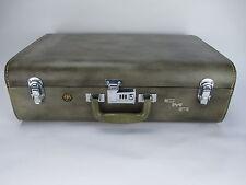 "Vintage WILT Luggage Luxury Leather Wardrobe Trunk Suitcase 25"" x 19"" x 8 1/2"""