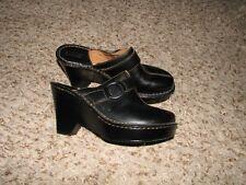 Wmns Sz Sz 5 Black Leather Born Shoes